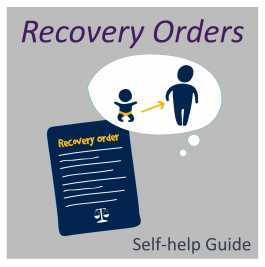 Recovery orders